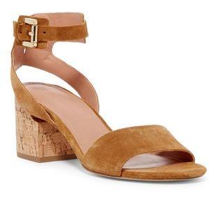 Sigerson Morrison Rina Suede City Sandal 9.5 EUC